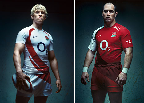 T-shirt Footballers use tape keep pads on RUGBY players use tape keep Ears on
